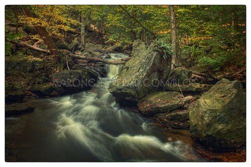 Above Mohawk Falls (version II)